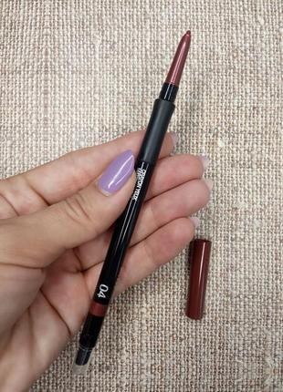 Автоматический карандаш для внутреннего и внешнего века kiko milano lasting precision 04