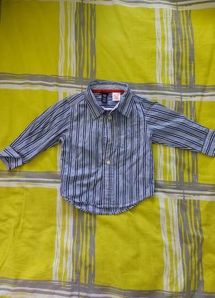 Рубашка на мальчика до 2-х лет