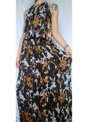 Платье с леопардовым принтом next