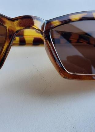 Очки леопардовый принт sunglasses animal print