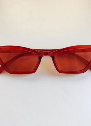 Стильный кошачий глаз солнцезащитные очки