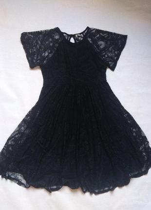 Ажурное платье asos 12/42,нарядное,кружево,плаття,сукня нарядна