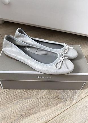 Нарядные туфли балетки для девочки 36 размер