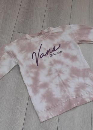 Свитшот пуловер джемпер толстовка оригинальный vans оригинал xs s