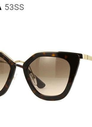 Оригинал очки prada коричневые