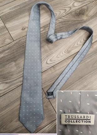 Брендовый шелковый галстук италия