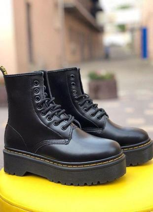 Dr. martens bex black женские ботинки наложка
