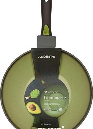 Сковорода вок антипригарная новая 28 авокадо