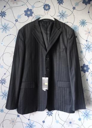 Мужской пиджак классический деловой 56-58 размер daniel perry
