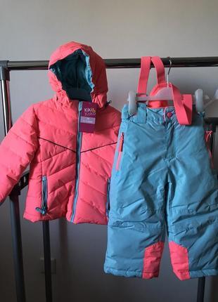Зимовий костюм, комбінезон куртка і штани