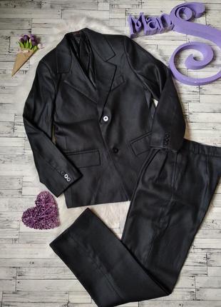 Школьный костюм niko moda на мальчика черный