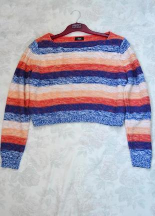 Замечательный укороченный свитер