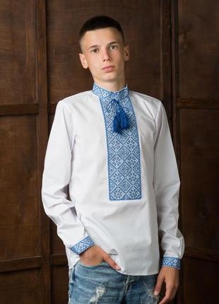 Підліткова вишиванка на сорочковій тканині