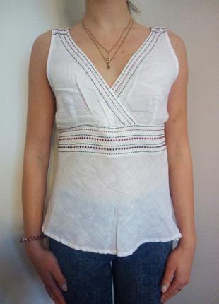 Блуза  лен next