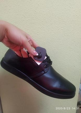 Мужские туфли баталы новинка осени