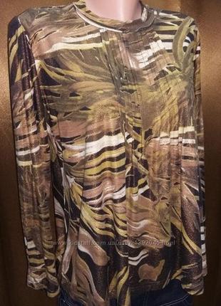 Оригинальная футболка водолазка,легкий свитерок, блуза