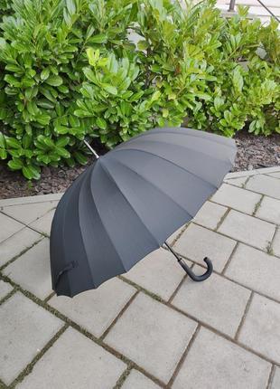 Велика парасоля на 24 карбонові спиці парасолька / мужской зонт зонтик