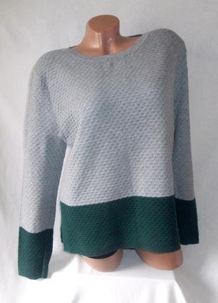 Total sale скидки распродажа!!! свободная серая кофта с молнией свитер next