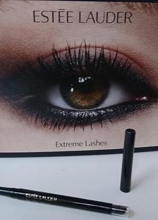 Черный водостойкий карандаш-подводка для глаз estee lauder double wear infinite