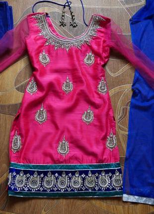 Индийский костюм детский. сари.