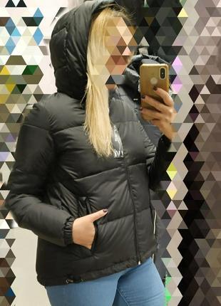 Шикарная короткая куртка,пуховик, люкс качество 💖