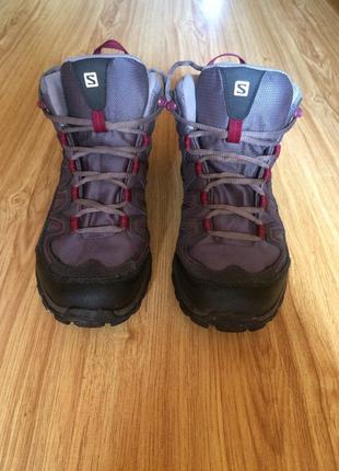 Трекинговые ботинки salomon gore tex