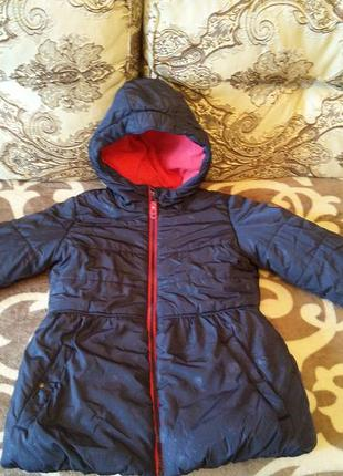 Charles vogele куртка зимняя р. 128
