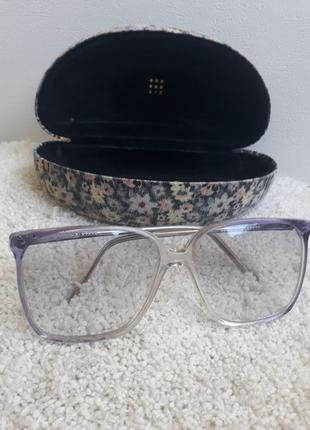 Винтажные очки с футляром из германии.