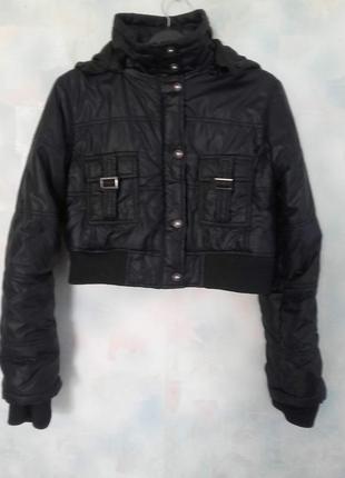 Куртка-спенсер (короткая куртка) нюанс