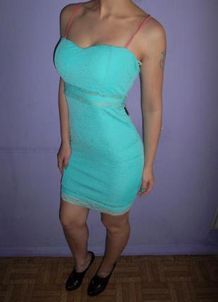 Платье бюстье tally weijl