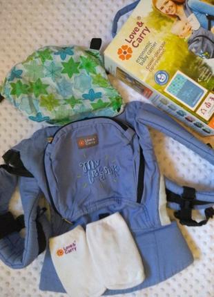 Эрго рюкзаки для новорожденных