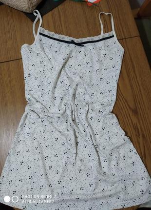 Бавовняне домашнє платтячко,нічнушка