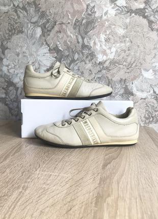 Dirk bikkembergs 37 р кожа италия кроссовки кросівки туфли