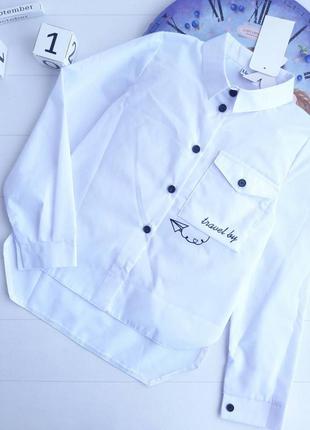 Шикарная блуза для девочки 128р