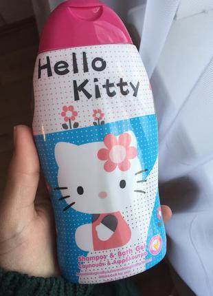 Шампунь-гель hello kitty оригинал!