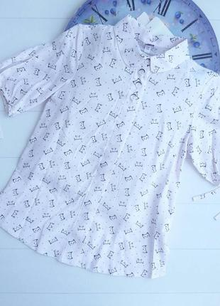 Блуза нежно розовая 140р