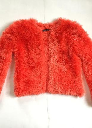 Модний оранжевий светер