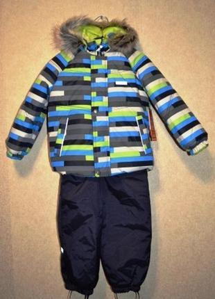Ленне зимний комплект для мальчиков lenne frank 18318-3300