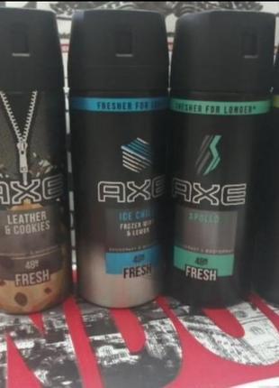 Axe дезодорант мужской, в наличии виды