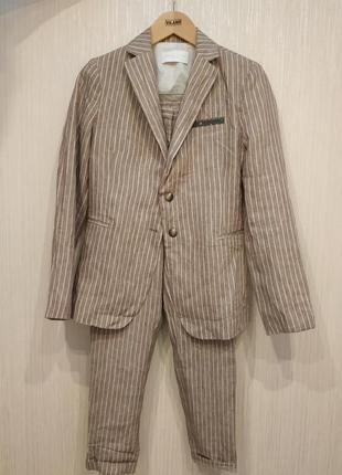 Шикарный костюм fabiana filippi лен оригинал