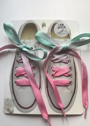Шнурівки для низьких кедів