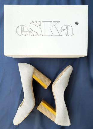 Туфли замшевые eska