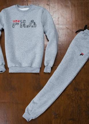 Спортивные штаны зимние фила fila