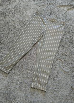 Спеццена штаны в полоску