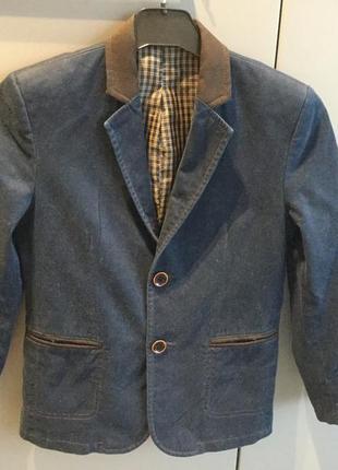 Пиджак для мальчика vels украина шерсть/ полиэстер