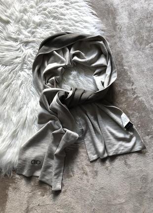 Люксовый шикарный двусторонний шарф шерсть шелк кашемир унисекс salvatore ferragamo