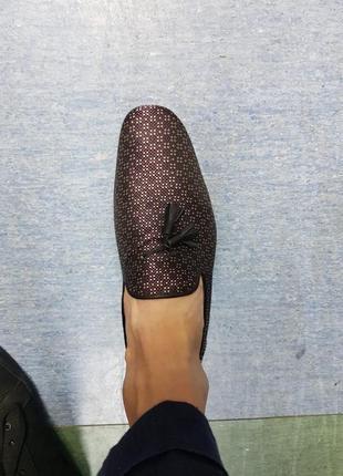 Мужские дизайнерские туфли лоферы asos7 фото