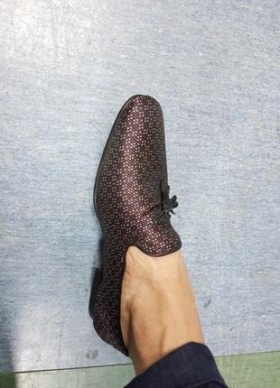 Мужские дизайнерские туфли лоферы asos6 фото