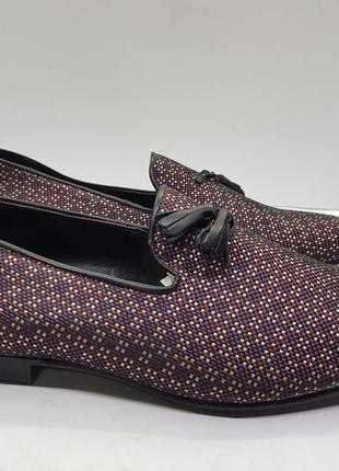 Мужские дизайнерские туфли лоферы asos5 фото