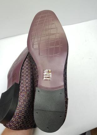 Мужские дизайнерские туфли лоферы asos10 фото